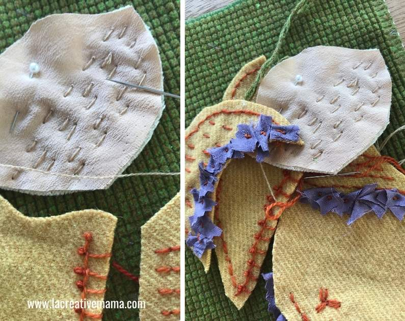 baby applique patterns. making a baby pillow tutorial 12