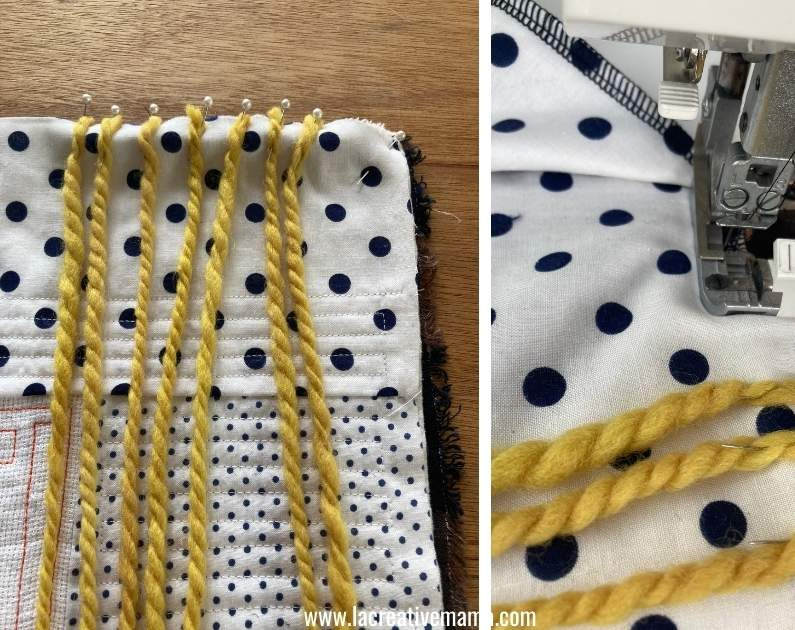 how to make a quilted pillow for girls tutorial 16