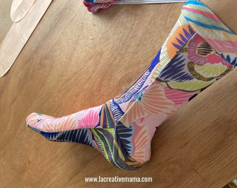 diy how to make a sock tutorial free pattern
