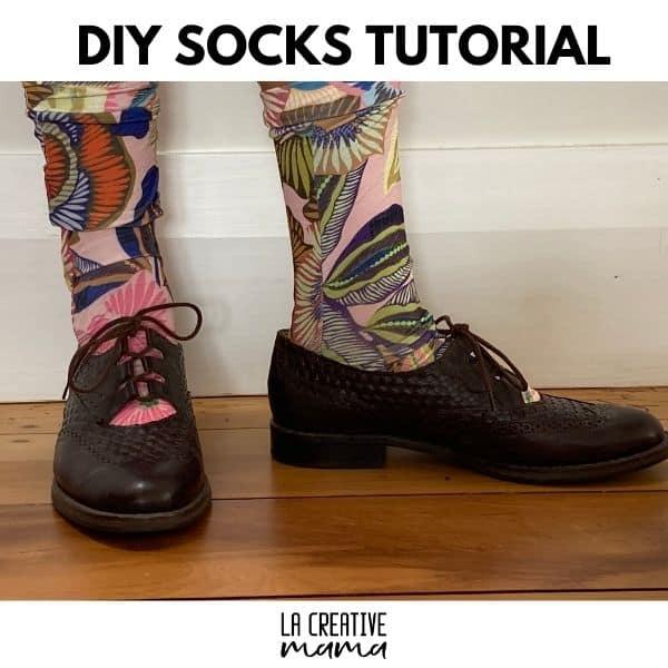 DIY socks tutorial