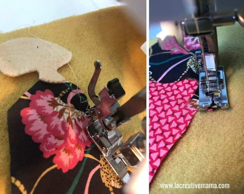 How to make embroidered patches with a sewing machine 6