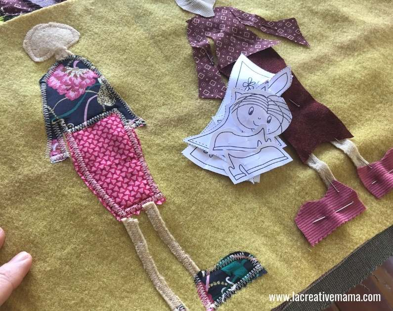 How to make embroidered patches with a sewing machine 8