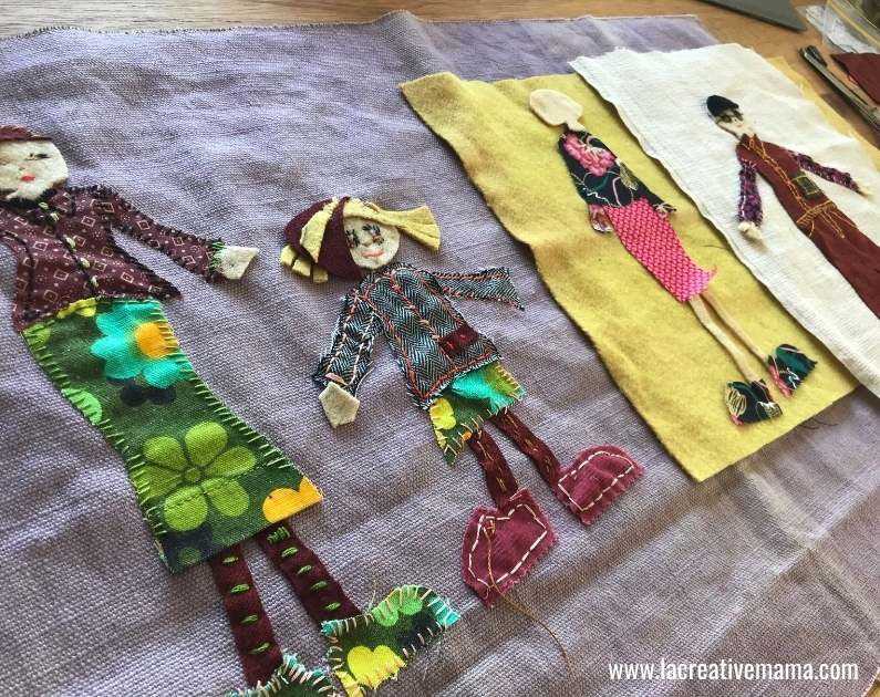 how to make embroidered patches tutorial step by step