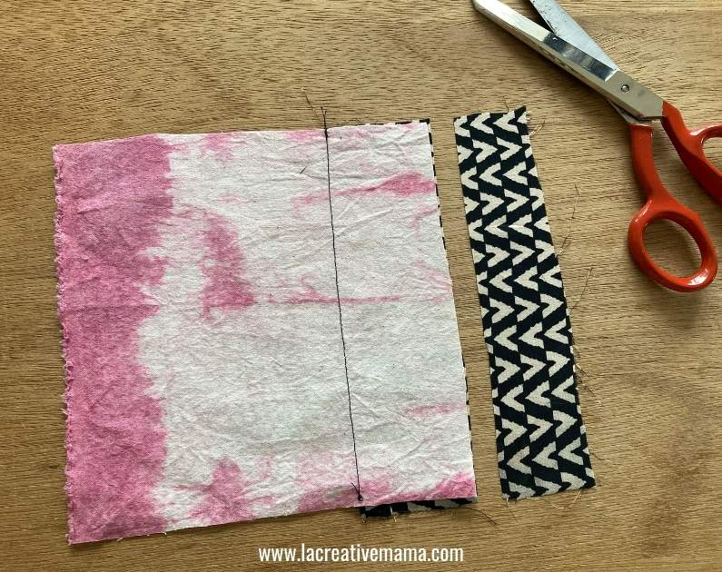 sewing an outside bag pocket tutorial