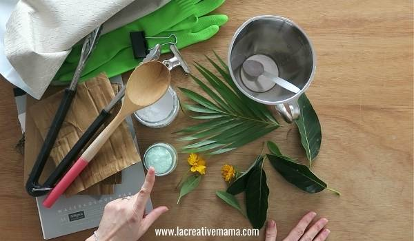 materials for eco printing on paper