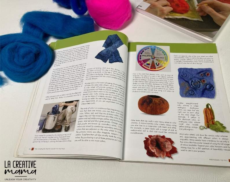 The Complete Photo Guide to Felting, by Ruth Lane