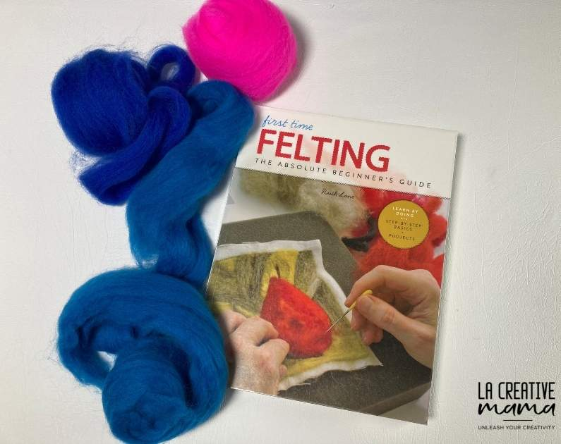 First Time Felting, by Ruth Lane, the best felting book for beginners. Read my review.