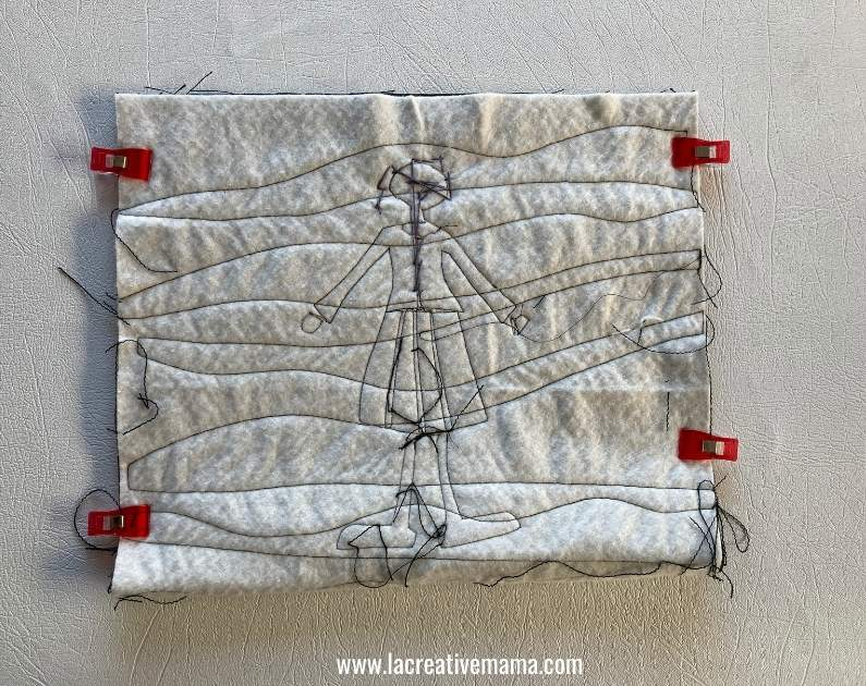 sewing a quilted tote bag tutorial