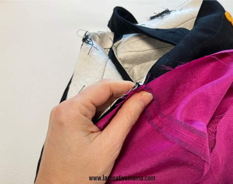 sewing a tote bag to the lining tutorial
