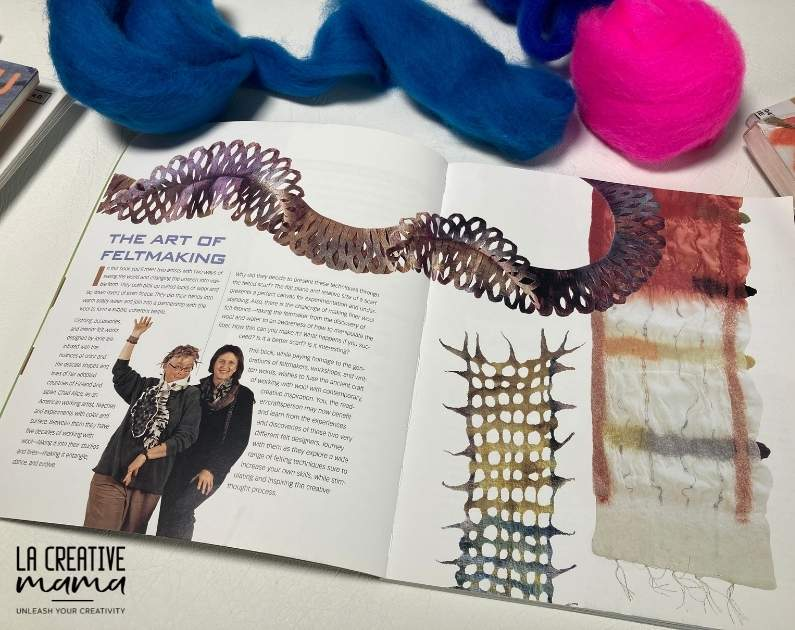 arves, by Chad Alice Hagen and Jorie Johnson This is a great wet felting book here is my review