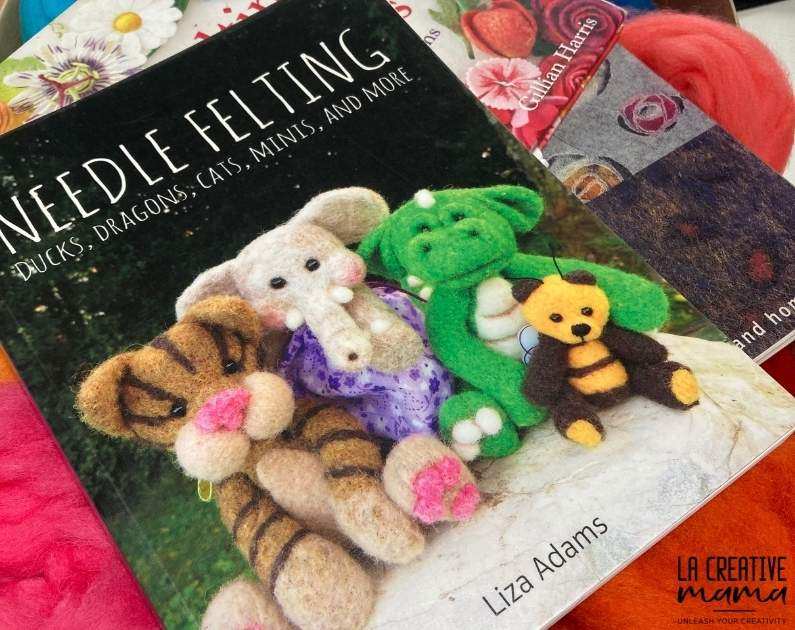 Needle Felting ducks, dragons, cats, minis, and much more, by Liza Adams create beautiful needle felted animals