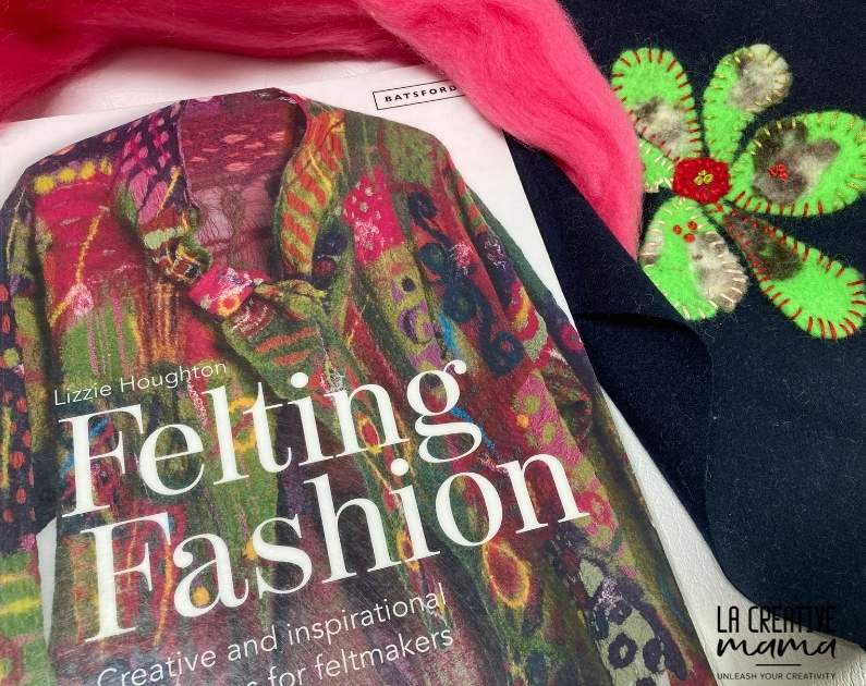 Felting Fashion, by Lizzie Houghton this book is great to apply felting techniques to fashion items such as coats, vests and hats