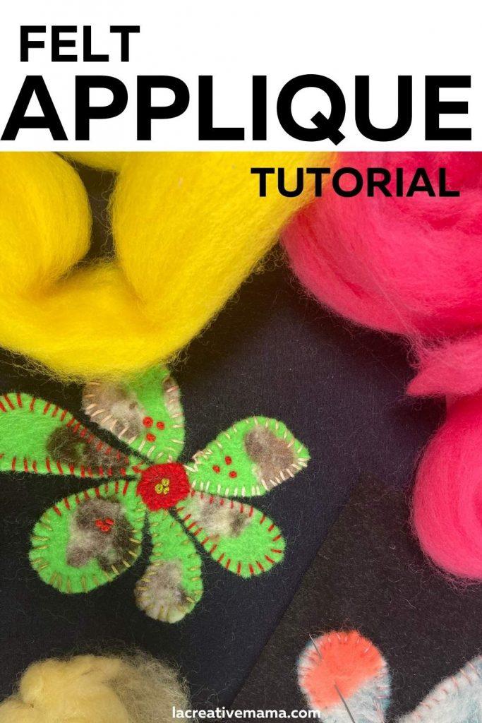 felt applique tutorial