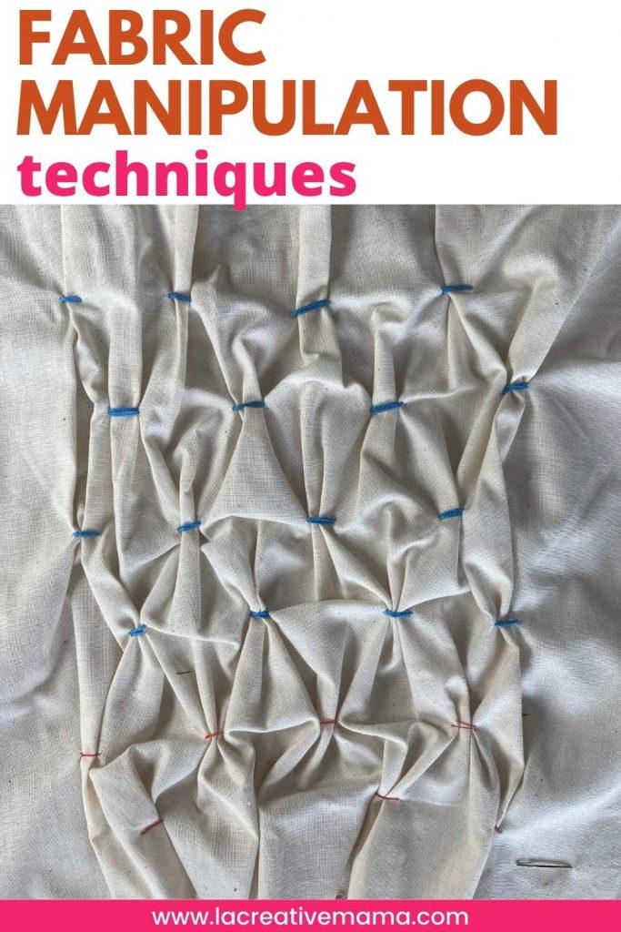 fabric manipulation techniques smocking